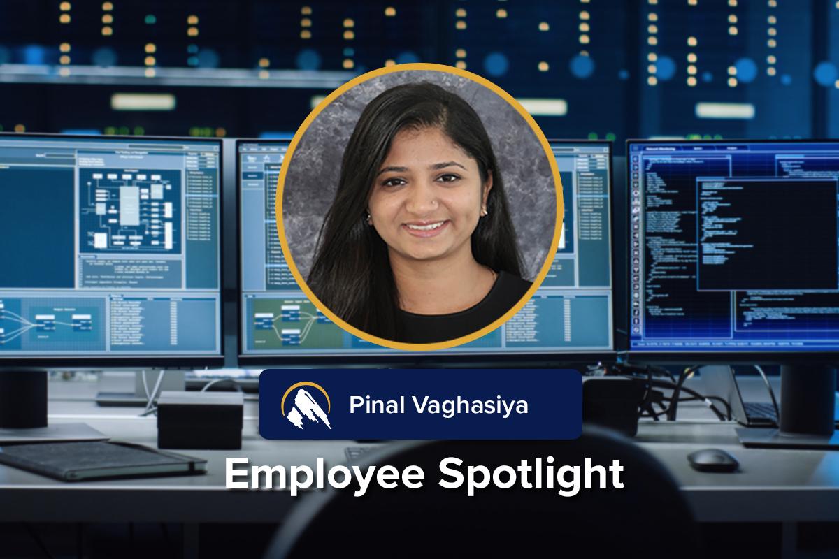 Employee Spotlight: Pinal Vaghasiya, Software Developer