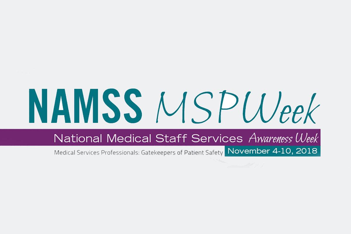 National Association Medical Staff Services Awareness Week