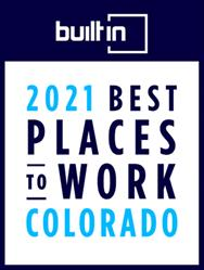 2021 Best Mid Sized Company to Work Colorado