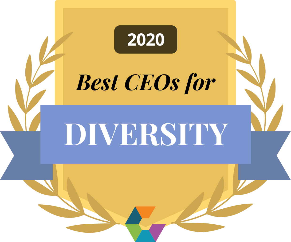 Comparably Best CEOs for Diversity 2020